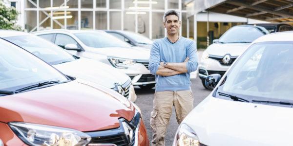 Renault-Tageszulassung